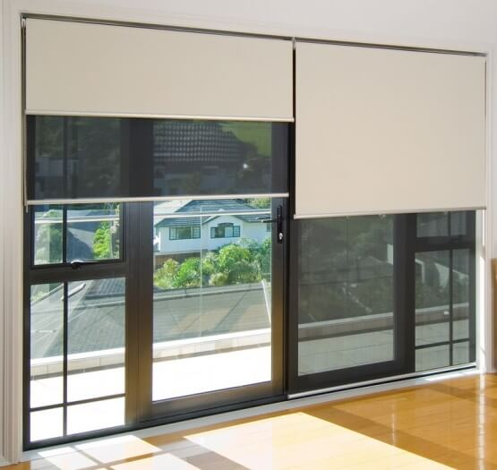 Window Dual Roller Blinds Window Blinds In Okotoks
