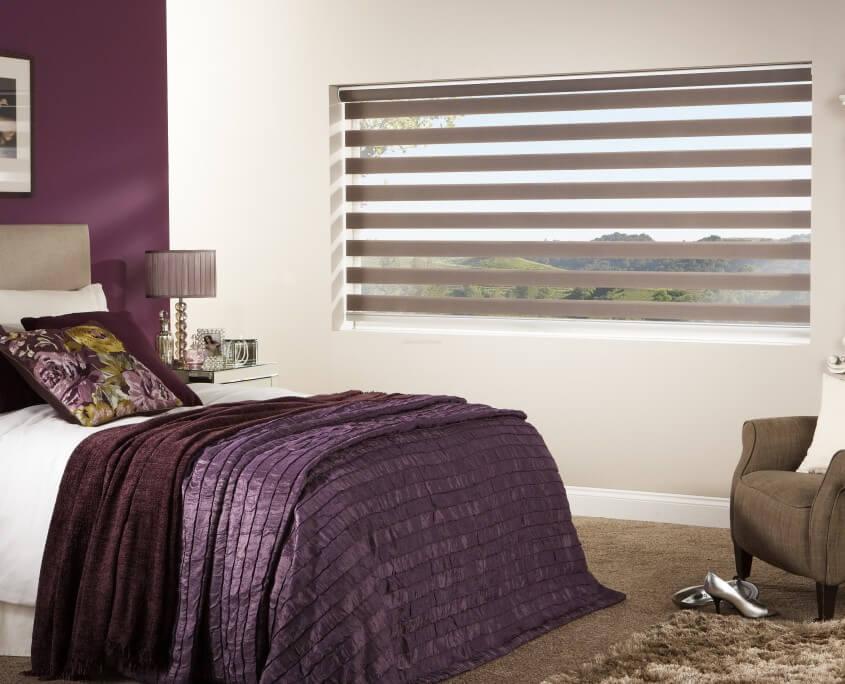Zebra Window Shades In Cochrane Ab Zebra Shade Blinds